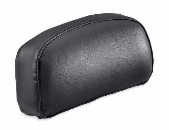 "Harley-Davidson Passenger Backrest Pad 4"" x 8"" vinyl  black  - 52300504"