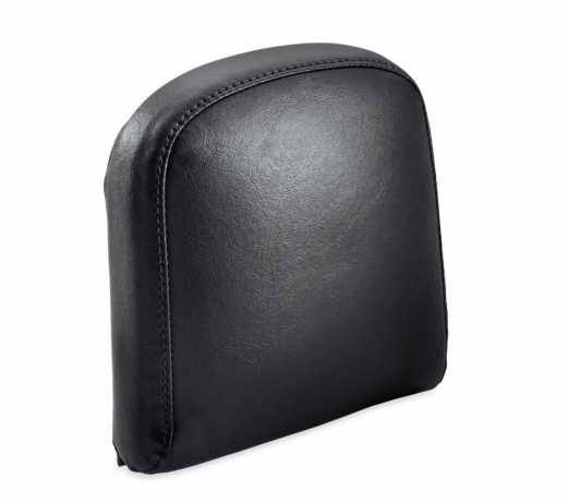 Harley-Davidson Passenger Backrest Pad Mid-Sized Smooth Black Vinyl  - 52300560