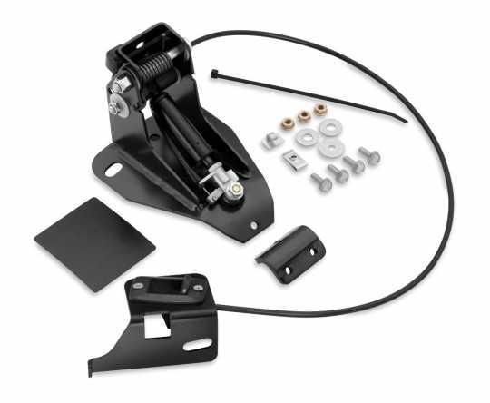 Harley-Davidson Adjustable Rider Backrest Mounting Kit  - 52596-09A