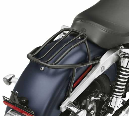 Harley-Davidson Fest montierter Solo Gepäckträger schwarz  - 52796-09