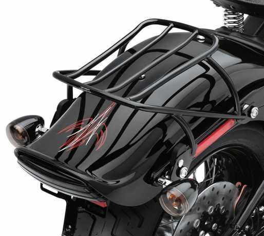 Harley-Davidson Abnehmbarer Solo Gepäckträger schwarz  - 53612-08A