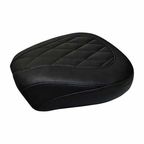 "Mustang Wide Tripper Passenger Seat 11.5"" Diamond, black"