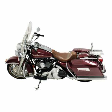 """Mustang Mustang Wide Tripper Solo Seat 14"""", distressed brown  - 537018"""