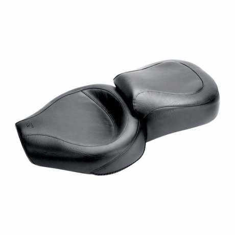 "Mustang Wide Touring 1-Piece Seat 15"", black"