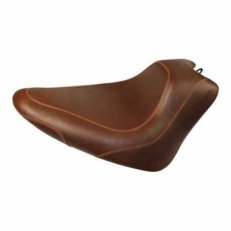 """Mustang Mustang Wide Tripper Solo Seat 13"""", distressed brown  - 537431"""