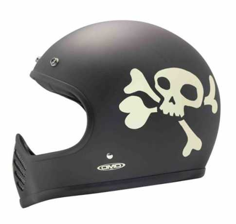 DMD DMD Little Skull Seventy Five Helmet black Full Face EC  - 539541