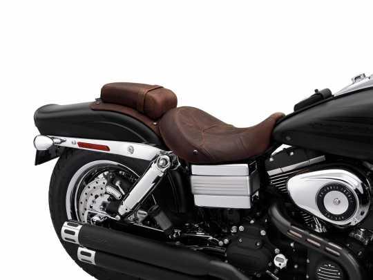 "Harley-Davidson Passenger Pillion 5.5"" Distressed Brown Leather  - 54089-10"