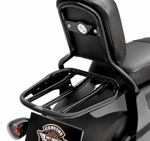 Harley-Davidson konischer Sport Gepäckträger Fünfstrebig schwarz  - 54263-10