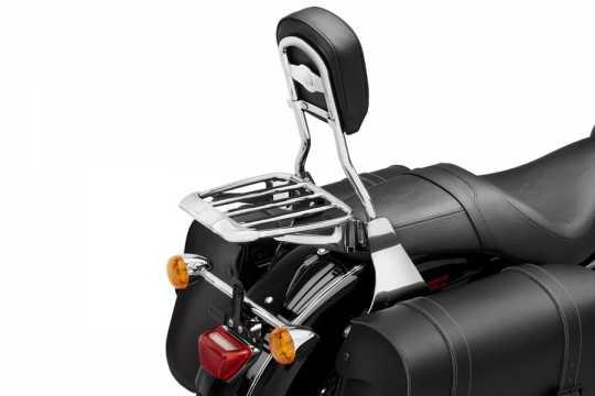 Harley-Davidson Premium Gepäckträger Air Foil mit Gummi-Grip-Streifen chrom  - 54290-11