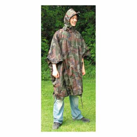 Motorcycle Storehouse Fostex Poncho Light, Camouflage  - 545252