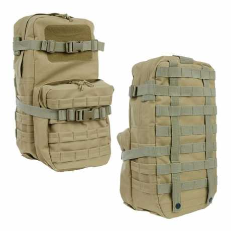 Motorcycle Storehouse Molle Add On Backpack Green  - 545590
