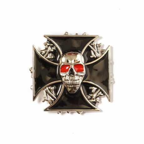 Motorcycle Storehouse MCS Gürtelschnalle Cross & Skull  - 545628