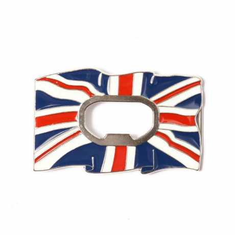 Motorcycle Storehouse MCS Belt Buckle Uk Flag with Bottle Opener  - 545632