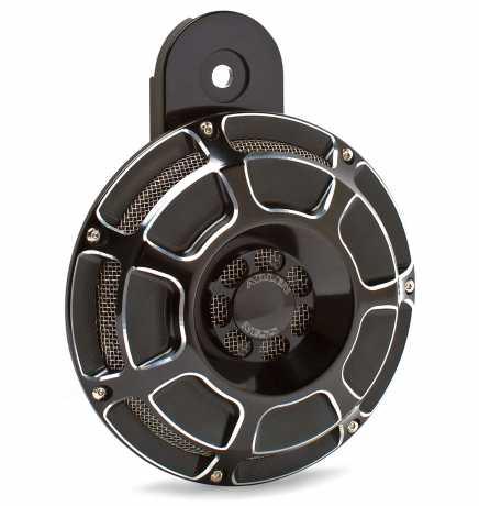 Arlen Ness Arlen Ness Beveled Horn Kit, black  - 55-0169