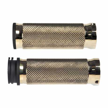 Thunderbike Grip-Set Base Brass black - 55-70-390