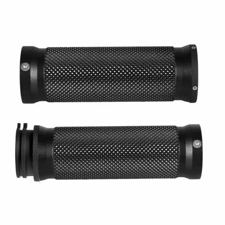 Thunderbike Grips Base Satin black cut  - 55-70-430