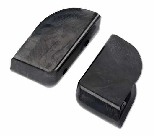 Arlen Ness Arlen Ness Angled Saddlebag Block-Off Plug, right  - 55-0003