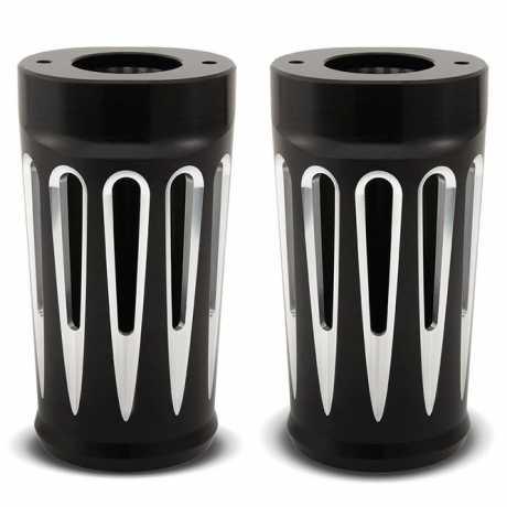 Arlen Ness Arlen Ness Deep Cut Fork Boots, black  - 55-0018