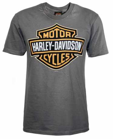 H-D Motorclothes Harley-Davidson T-Shirt Bar & Shield grau XL - 5504-CIKQ-XL