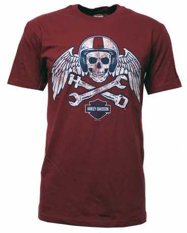 H-D Motorclothes Harley-Davidson T-Shirt Throttle Master red  - 5504-HK3X