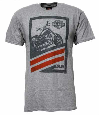 H-D Motorclothes Harley-Davidson T-Shirt Invest In Fun grey  - 5504-HK43