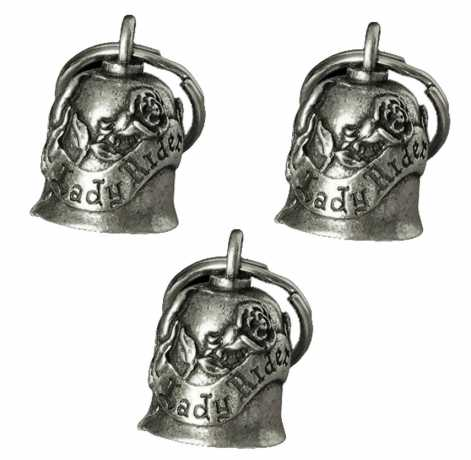 Motorcycle Storehouse Lady Rider Gremlin Bell Set  - 550508