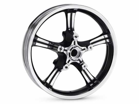 "Anarchy 5-Spoke 18"" Front Wheel Contrast Chrome"