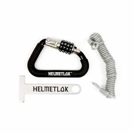 Motorcycle Storehouse Helmet Lock with Cable  - 559610