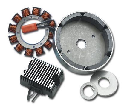 Motor Factory Motor Factory 32A Ladesystem mit chrom Regler  - 56-232