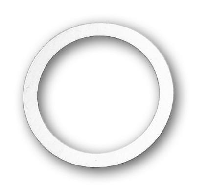 Custom Chrome Retaining Washer 35131-36  - 56-273