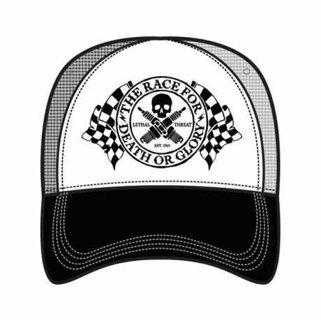 Lethal Threat Lethal Threat Trucker Cap Death or Glory  - 563963