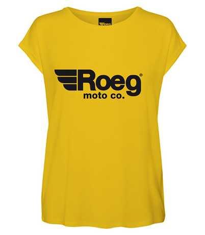 Roeg Roeg OG Damen T-Shirt gelb  - 565742V