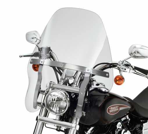 "Quick-Release Touring Windshield 19"" light smoke"
