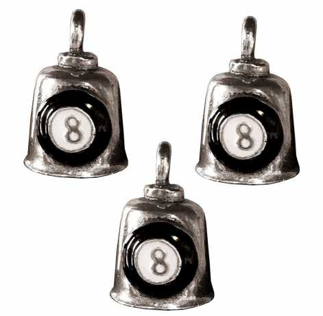 Motorcycle Storehouse 8 Ball Gremlin Bell Set  - 571802