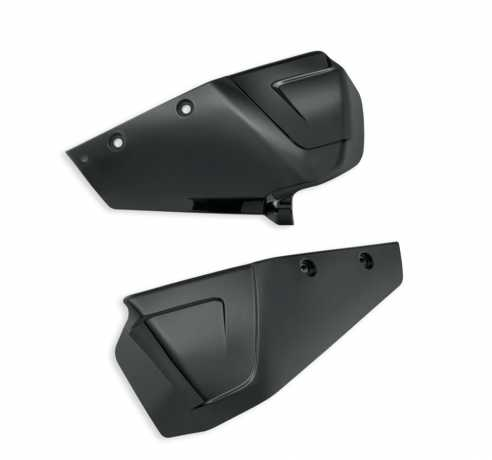 Color Shop Limited Series Aggressive Edge Destroyer Side Covers, Vivid Black