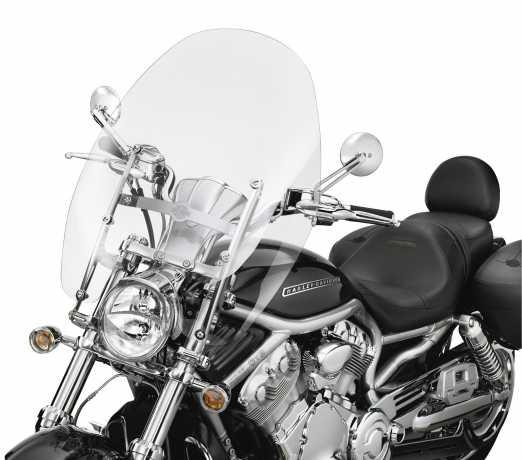 "Harley-Davidson Abnehmbare Touring Windschutzscheibe 23"" klar  - 57211-05"