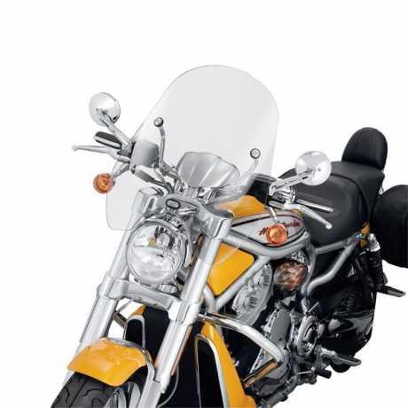 "Harley-Davidson Compact Mid-Sport Windschutzscheibe 18"" klar  - 57213-06"