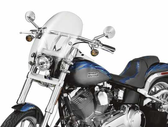 "Harley-Davidson Abnehmbare Super Sport Windschutzscheibe 16"" leicht getönt  - 57331-07"