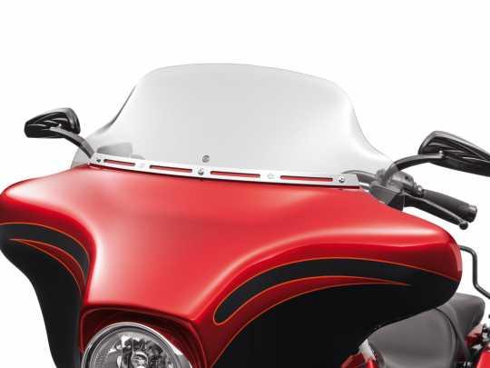 """Harley-Davidson Wind Splitter Windschutzscheibe 10"""" leicht getönt  - 57400092"""