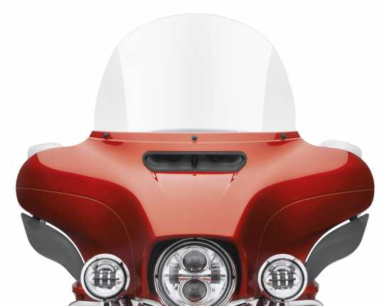 """Harley-Davidson Batwing Windschutzscheibe 15"""" klar  - 57400224"""