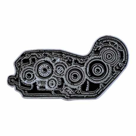 Biltwell Biltwell Enamel Pin 4 Cam Black/White  - 576085