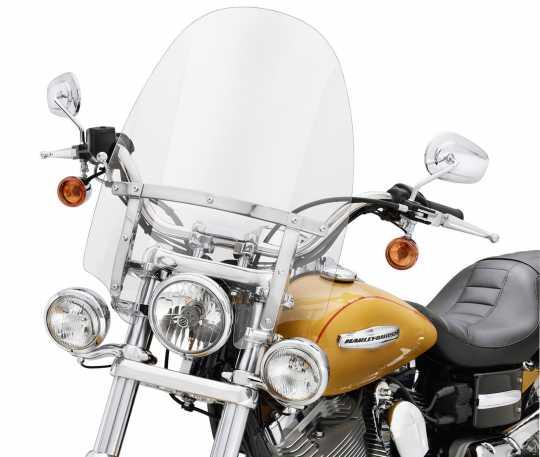 "Harley-Davidson Abnehmbare Kompakt-Windschutzscheibe 18"" klar  - 57609-08"