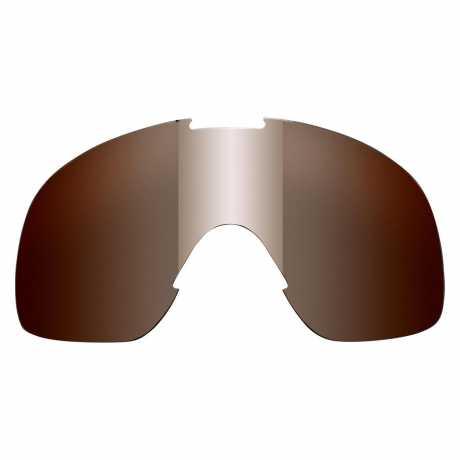 Biltwell Biltwell Overland 2.0 Goggle Lens Chrome Mirror/Brown  - 576092