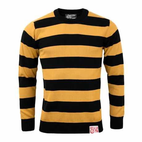 13 1/2 Magazine 13-1/2 Outlaw Sweatshirt schwarz/gelb  - 576253V