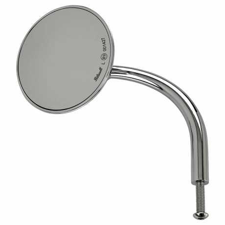 Biltwell Biltwell Utility Round Spiegel chrom ECE  - 576327