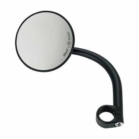 Biltwell Biltwell Utility Round Mirror Black ECE  - 576330