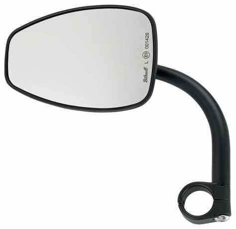 Biltwell Biltwell Utility Teardrop Mirror Black Ece  - 576332
