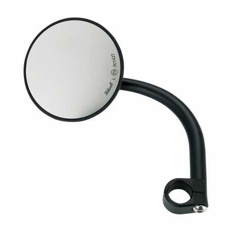 Biltwell Biltwell Utility Round Spiegel schwarz ECE  - 576333