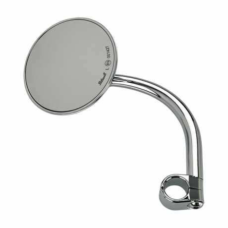 Biltwell Biltwell Utility Round Spiegel chrom ECE  - 576334