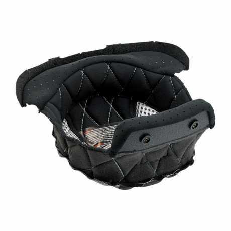 Biltwell Biltwell Helmet Liner Black/Silver  - 576900V